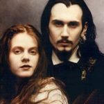 Lisa & Eric Hammer of Requiem In White wearing ACCOMPLICE 1991